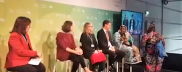 COP23 Women for Results Panel